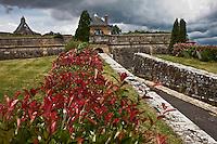 Europe/France/Aquitaine/33/Gironde/Blaye: La Citadelle de Blaye - La Porte Dauphine - Patrimoine mondial UNESCO