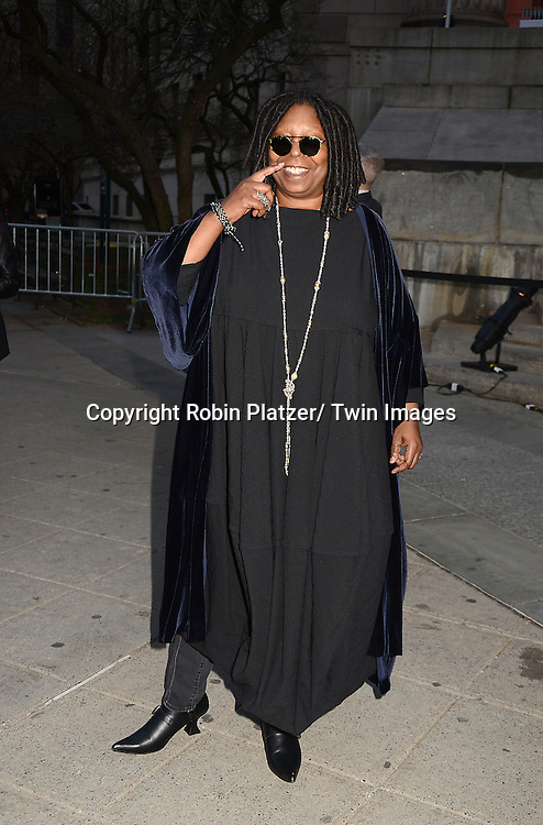Whoopi Goldberg attends the Vanity Fair Party for the 2013 Tribeca Film Festival on April 16, 2013 at State Suprme Courthouse in New York City.