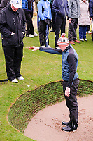 Robert Brazill (Naas) ball in the bunker wall during the final of the 2018 West of Ireland, in Co Sligo Golf Club, Rosses Point, Sligo, Co Sligo, Ireland. 03/04/2018.<br /> Picture: Golffile | Fran Caffrey<br /> <br /> <br /> All photo usage must carry mandatory copyright credit (&copy; Golffile | Fran Caffrey)