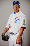 Kuo, Hung-Chih of Team Chinese Taipei poses during WBC Photo Day on February 25, 2013 in Taichung, Taiwan. Photo by Victor Fraile / The Power of Sport Images