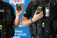 2017 05 17 Body cameras to be worn by South Wales Police officers, Cardiff, UK