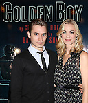 Seth Numrich & Yvonne Strahovski  attending the Meet & Greet for the Lincoln Center Theater's 75th Anniversary Production of 'Golden Boy' at their Rehearsal Studios on 10/25/2012 in New York.