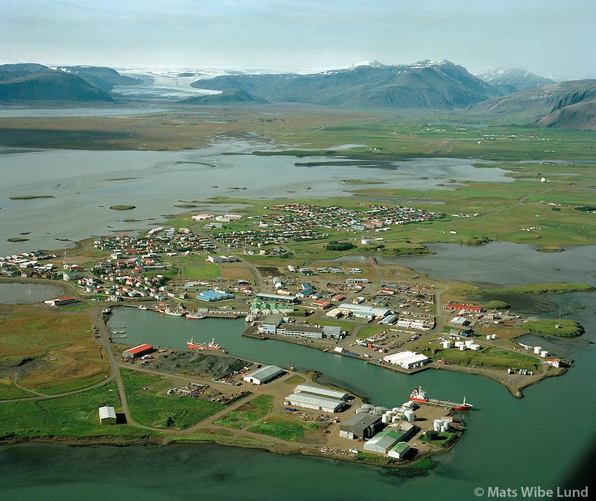 Höfn, Hornafjörður.Hofn, Hornafjordur