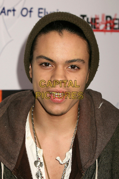 EVAN ROSS.The 2006 Art of Elysium Annual Art,  Benefit at Minotti, Los Angeles, California, USA,.02 December 2006..portrait headshot hat.CAP/ADM/BP.©Byron Purvis/AdMedia/Capital Pictures.