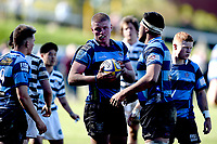 Anton Segner of Nelson College, during the 1st XV South Island Final rugby match between Otago Boys High School 1st XV and Nelson College 1st XV at Littlebourne in Dunedin, New Zealand on Saturday, 31 August 2019. Photo: Joe Allison / lintottphoto.co.nz