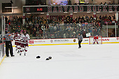 Ryan Donato (Harvard - 16), Lewis Zerter-Gossage (Harvard - 77) - The Harvard University Crimson defeated the visiting Cornell University Big Red on Saturday, November 5, 2016, at the Bright-Landry Hockey Center in Boston, Massachusetts.