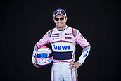 22nd March 2018, Melbourne Grand Prix Circuit, Melbourne, Australia; Melbourne Formula One Grand Prix, Arrivals and Press Conference; The number 11 Sahara Force India driver Sergio Perez