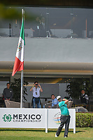 Charley Hoffman (USA) watches his tee shot on 10 during round 1 of the World Golf Championships, Mexico, Club De Golf Chapultepec, Mexico City, Mexico. 3/1/2018.<br /> Picture: Golffile | Ken Murray<br /> <br /> <br /> All photo usage must carry mandatory copyright credit (&copy; Golffile | Ken Murray)