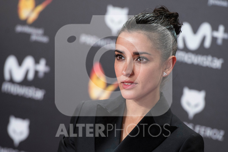 Inma Cuesta attends red carpet of Feroz Awards 2018 at Magarinos Complex in Madrid, Spain. January 22, 2018. (ALTERPHOTOS/Borja B.Hojas)