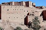 Kasbah Taourirt, Ouarzazate, Morocco.
