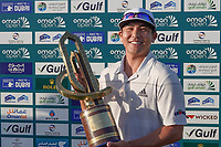 Kurt Kitayama (USA) during the final round of the Oman Open, Al Mouj Golf, Muscat, Sultanate of Oman. 03/03/2019<br /> Picture: Golffile | Phil Inglis<br /> <br /> <br /> All photo usage must carry mandatory copyright credit (&copy; Golffile | Phil Inglis)