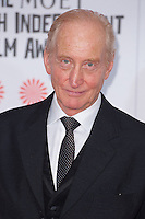 Charles Dance arriving for the Moet British Independent Film Awards 2014, London. 07/12/2014 Picture by: Alexandra Glen / Featureflash