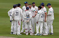 Jamie Porter of Essex celebrates taking the wicket of Michael Burgess during Warwickshire CCC vs Essex CCC, Specsavers County Championship Division 1 Cricket at Edgbaston Stadium on 11th September 2019