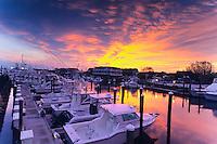 Boats and Marina, Cape May, New Jersey