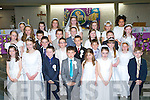 Pupils from Lissivigeen NS Killarney who received their First Holy Communion in the Church of the Resurrection, Killarney on Saturday  ..