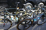 Bora-Hansgrohe team Specialized bikes at the team bus before the start of Gent-Wevelgem in Flanders Fields 2017, running 249km from Denieze to Wevelgem, Flanders, Belgium. 26th March 2017.<br /> Picture: Eoin Clarke | Cyclefile<br /> <br /> <br /> All photos usage must carry mandatory copyright credit (&copy; Cyclefile | Eoin Clarke)