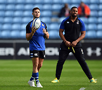 Max Green of Bath Rugby looks on prior to the match. Heineken Champions Cup match, between Wasps and Bath Rugby on October 20, 2018 at the Ricoh Arena in Coventry, England. Photo by: Patrick Khachfe / Onside Images