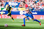 Atletico de Madrid's player Diego Godín during a match of La Liga Santander at Vicente Calderon Stadium in Madrid. September 17, Spain. 2016. (ALTERPHOTOS/BorjaB.Hojas)