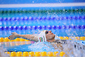 Katinka Hosszu (HUN), <br /> AUGUST 12, 2016 - Swimming : <br /> Women's 200m Backstroke Final <br /> at Olympic Aquatics Stadium <br /> during the Rio 2016 Olympic Games in Rio de Janeiro, Brazil. <br /> (Photo by Yohei Osada/AFLO SPORT)