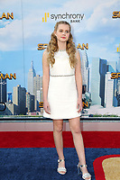 """LOS ANGELES - JUN 28:  Angourie Rice at the """"Spider-Man: Homecoming"""" at the TCL Chinese Theatre on June 28, 2017 in Los Angeles, CA"""
