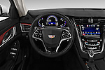 Car pictures of steering wheel view of a 2016 Cadillac CTS Luxury Collection 4 Door sedan Steering Wheel