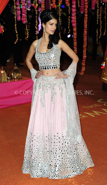 WWW.ACEPIXS.COM<br /> <br /> February 17 2015, London<br /> <br /> Tina Desai attending The Royal Film Performance and World Premiere of 'The Second Best Exotic Marigold Hotel' at Odeon Leicester Square on February 17, 2015 in London<br /> <br /> By Line: Famous/ACE Pictures<br /> <br /> <br /> ACE Pictures, Inc.<br /> tel: 646 769 0430<br /> Email: info@acepixs.com<br /> www.acepixs.com