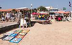 Cabo Verde, Kaap Verdie, KaapVerdie, sal kaapverdie santa maria 2017<br /> Santa Maria, officieel  is een plaats in het zuiden van het Kaapverdische eiland Sal met 6.272 inwoners. Met de opkomst van het toerisme heeft de plaats bekendheid gekregen en is het toerisme de voornaamse inkomstenbron<br /> Kaapverdië, dat behoort tot de geografische regio Ilhas de Barlavento<br />   foto  Michael Kooren<br /> beach, beach life, caipirinha's, cocktail, cocktailbar, popular, painters, artist Senegal,
