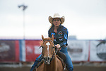 Christine Laughlin during the Cody Stampede event in Cody, WY - 7.3.2019 Photo by Christopher Thompson