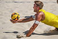 26th June 2020, Dusseldorf, Germany; The German Beach Volleyball League; Alexander Walkenhorst