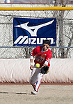 March 23, 2012:    Fresno State Bulldogs left fielder Andrea Ortega makes the catch against the Nevada Wolf Pack  during their NCAA softball game played at Christina M. Hixson Softball Park on Friday in Reno, Nevada.