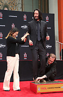 14 May 2019 - Hollywood, California - Keanu Reeves. The Keanu Reeves Hand And Foot Print Ceremony held at The TCL Chinese Theatre.       <br /> CAP/ADM/FS<br /> ©FS/ADM/Capital Pictures