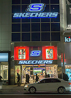 A Skechers store in Herald Square in New York on Tuesday, February 16, 2016. (© Richard B. Levine)