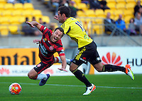 160410 A-League Football - Phoenix v Wanderers