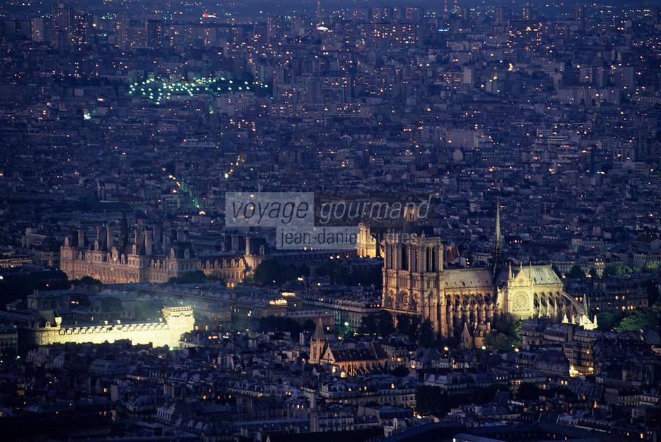 Europe/France/Ile-de-France/75006/Paris: Notre-Dame-de-Paris et l'hôtel de ville