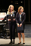 "Helen Hunt and Andrea Burns during the Opening Night performance bows for ENCORES! Off-Center production of ""Working - A Musical""  at New York City Center on June 26, 2019 in New York City."