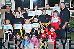 Kickboxers - Students of the Tralee School of Martial Arts with Instructors Mike Allen and Stephen O'Connor pictured celebrating their Xmas party and receiving their Certificates for successful completion of their recent Kickboxing Grading................................................................................................... ............   Copyright Kerry's Eye 2008