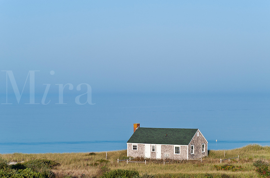 Beach house with view to the ocean, Truro, Cape Cod, MA, USA