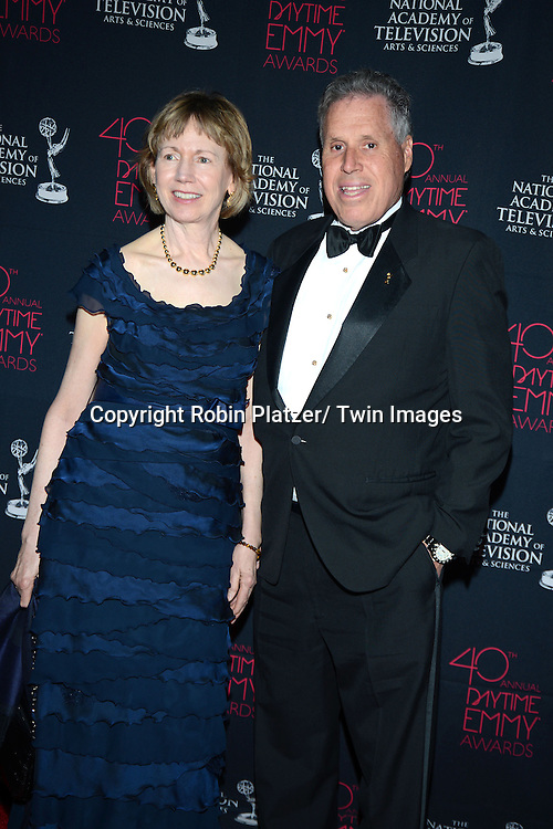 Malachy G Wienges and wife attends the 40th Annual Daytime Creative Arts Emmy Awards on June 14, 2013 at the Westin Bonaventure Hotel in Los Angeles, California.