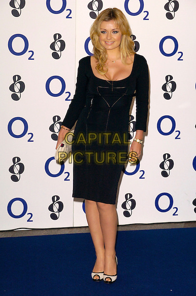 KATHERINE JENKINS.Attending the Nordoff-Robins 02 Silver Clef Luncheon, Hilton Park Lane Hotel, London, England,.June 29th 2007..full length black Katharine dress Catherine cleavage.CAP/CAN.©Can Nguyen/Capital Pictures