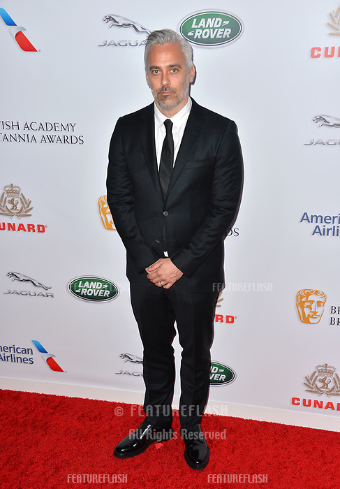BEVERLY HILLS, CA. October 26, 2018: Iain Canning at the 2018 British Academy Britannia Awards at the Beverly Hilton Hotel.<br /> Picture: Paul Smith/Featureflash