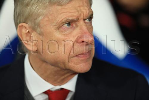 28th December 2017, Selhurst Park, London, England; EPL Premier League football, Crystal Palace versus Arsenal;  Arsenal Manager Arsene Wenger