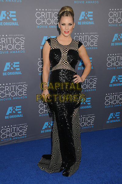 15 January 2015 - Hollywood, California - Carrie Keagan. 20th Annual Critics' Choice Movie Awards - Arrivals held the Hollywood Palladium.  <br /> CAP/ADM/BP<br /> &copy;Byron Purvis/AdMedia/Capital Pictures