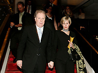 May 2006 File - <br /> Jean Charest, Queber Premier (L) and his wife Micheline (R) attend a concert at <br /> Place des Arts - Theatre Maisonneuve concert Hall, Montreal.Charest was elected for the first time  April 14 2003, he is seeking a 3rd term in the  Quebec provincial election which will be held Dec 14, 2008.<br /> Photo by Pierre Roussel / Images Distribution