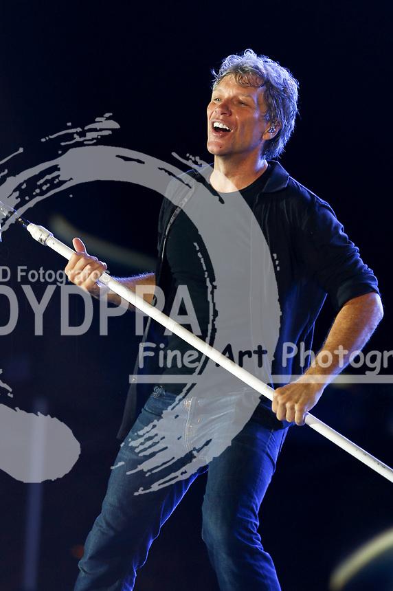 Jon Bon Jovi live auf dem En-Joie Golf Course. Endicott, 18.08.2017