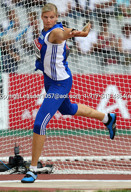 Nadine Muller  at the Samsung Diamond League. Paris,France Friday, July  16, 2010. Photo by Errol Anderson.