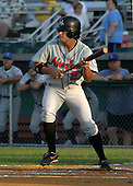 August 16, 2003:  Jacob Duncan of the Aberdeen Ironbirds, Class-A affiliate of the Baltimore Orioles, during a game at Falcon Park in Auburn, NY.  Photo by:  Mike Janes/Four Seam Images