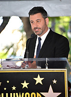 LOS ANGELES, CA. November 09, 2018: Jimmy Kimmel at the Hollywood Walk of Fame Star Ceremony honoring comedian Sarah Silverman.<br /> Pictures: Paul Smith/Featureflash
