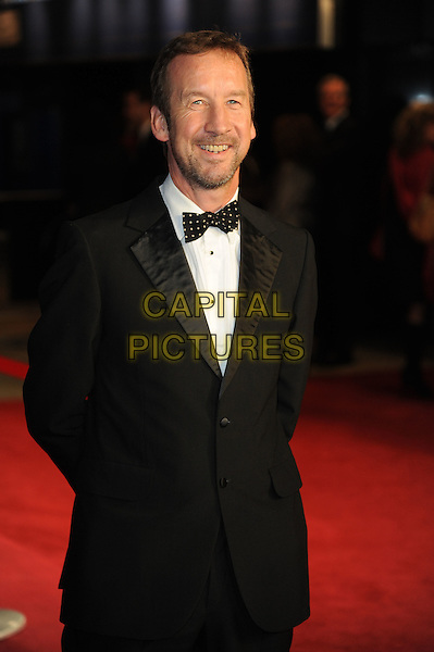 Andrew Eaton.'360' opening gala premiere, 55th BFI London Film Festival, Odeon cinema, Leicester Square, London, England..October 12th 2011.half length black tuxedo bow tie white shirt beard facial hair.CAP/CAS.©Bob Cass/Capital Pictures.