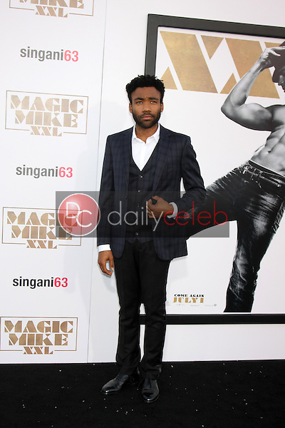 "Donald Glover <br /> at the ""Magic Mike XXL"" Premiere, TCL Chinese Theater, Hollywood, CA 06-25-15<br /> David Edwards/DailyCeleb.com 818-249-4998"