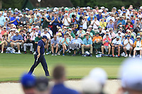 Phil Mickelson (USA) on the 2nd green during the 2nd round at the The Masters , Augusta National, Augusta, Georgia, USA. 12/04/2019.<br /> Picture Fran Caffrey / Golffile.ie<br /> <br /> All photo usage must carry mandatory copyright credit (© Golffile | Fran Caffrey)